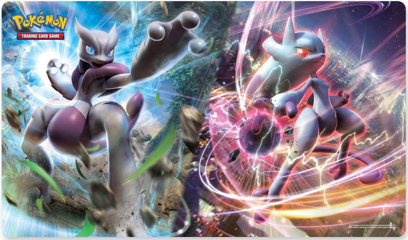 Pokemon Play Mat Mega Mewtwo X & Y